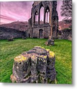 Welsh Abbey  Metal Print by Adrian Evans
