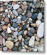 Wet Pebbles Metal Print by Margaret McDermott