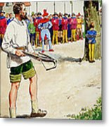 William Tell, From Peeps Into The Past Metal Print