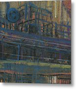 Wind Sock Metal Print by Donald Maier