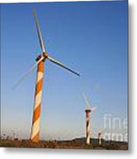 Wind Turbines  Metal Print by Shay Levy