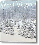 Winter In West Virginia Metal Print by Benanne Stiens