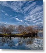 Winter Reflections Metal Print by Adrian Evans