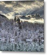 Winter Sunset Metal Print by Ivan Slosar