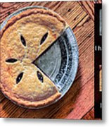 Worlds Most Accurate Pie Chart Metal Print by JC Findley