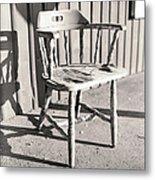 Wylie's Chair Metal Print
