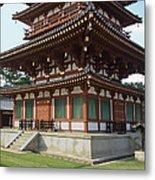 Yakushi-ji Temple West Pagoda - Nara Japan Metal Print