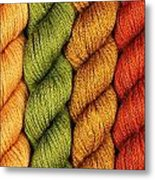 Yarn With A Twist Metal Print