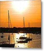 Yellow Sky Metal Print