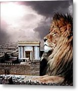 Yeshua In The Outer Court Metal Print