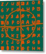 Zodiac Killer Code And Sign 20130213p28 Metal Print by Wingsdomain Art and Photography