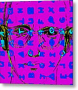 Zodiac Killer With Code And Sign 20130213m180 Metal Print