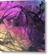 When The Night Comes Metal Print by Linda Sannuti