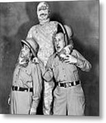 Abbott And Costello Metal Print by Granger