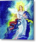 Angel Of Joy Metal Print by Doris Blessington