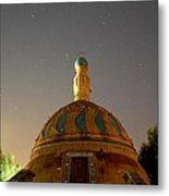 Baghdad Mosque Metal Print by Rick Frost