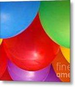 Balloons Background Metal Print