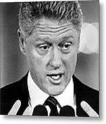 Bill Clinton Metal Print