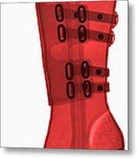 Boot, X-ray Metal Print