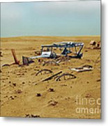 Dust Bowl Metal Print by Omikron