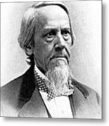 Elias Loomis, American Mathematician Metal Print by Science Source