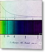 Fraunhofer Lines Metal Print by Science Source