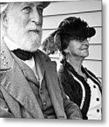 General Lee And Mary Custis Lee Metal Print
