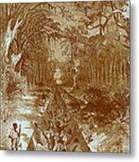 Grants Canal, 1862 Metal Print