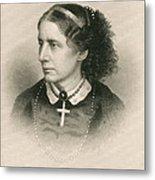 Harriet Beecher Stowe, American Metal Print by Photo Researchers