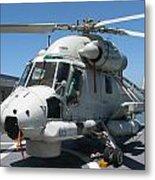 Kaman Sh-2g Sea Sprite Metal Print