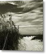 Let's Go To The Beach Metal Print