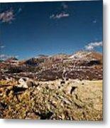 Mount Bierstadt Panorama Metal Print by Richard Steinberger