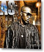 Nas Metal Print by The DigArtisT
