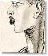 Portrait Metal Print by Odon Czintos