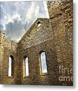 Ruins Of A Church In South Glengarry Metal Print