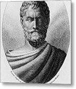 Thales, Ancient Greek Philosopher Metal Print by Photo Researchers, Inc.
