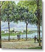 The Avenue Of Chestnut Trees Metal Print by Alfred Sisley