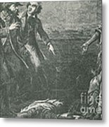 The Capture Of Margaret Garner Metal Print