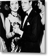 The Duke And Duchess Of Windsor Metal Print by Everett