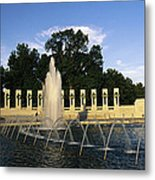 The Pacific Pavilion And Pillars Metal Print