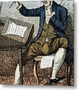 Thomas Paine, American Founding Father Metal Print by Photo Researchers
