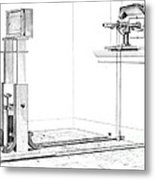 Woodwards Photomicrography Apparatus Metal Print by Science Source