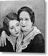 Silent Film Still: Women Metal Print