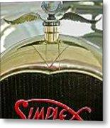 1916 Crane-simplex Model 5 Seven-passenger Touring Hood Ornament Metal Print