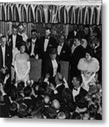 1960 Inaugural Ball. President Kennedy Metal Print