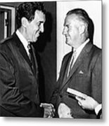 1968 Republican And Democratic Vice Metal Print