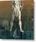 7 Wonders Of The World, Colossus Metal Print