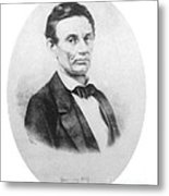 Abraham Lincoln, 16th American President Metal Print by Science Source