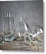 Glass Metal Print