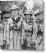 Juliette Daisy Low, Founder Of The Girl Metal Print